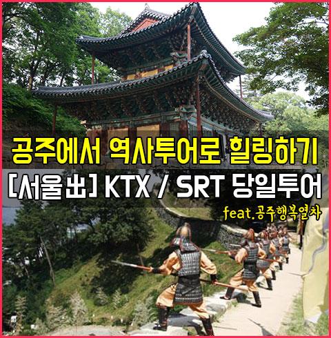 [서울出]공주행복열차 KTX/SRT당일투어*