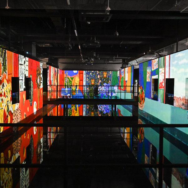 [아이뮤지엄] 디지털명화 색채의마술사 : 앙리마티스