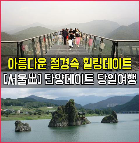 [서울出]단양스카이워크데이트당일여행*
